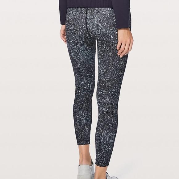 ff7dbd53345053 lululemon athletica Pants - Lululemon wunder under high rise 7/8 leggings